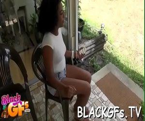 Schwarze Lcken-Muschi